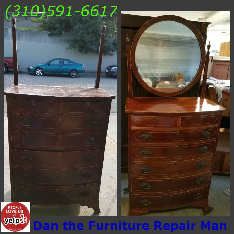 Antique Dresser Restoration In Long Beach Ca