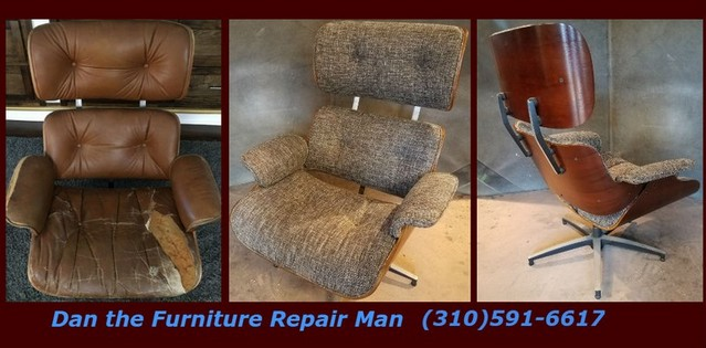 eames chair replica restoration in west los angeles ca