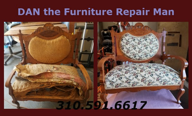 Antique Chair Restoration Long Beach, CA