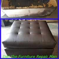 Ottoman Upholstery Repair Lakewood, CA