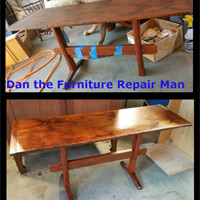 Antique Table Repair and Refinishing Santa Monica, CA