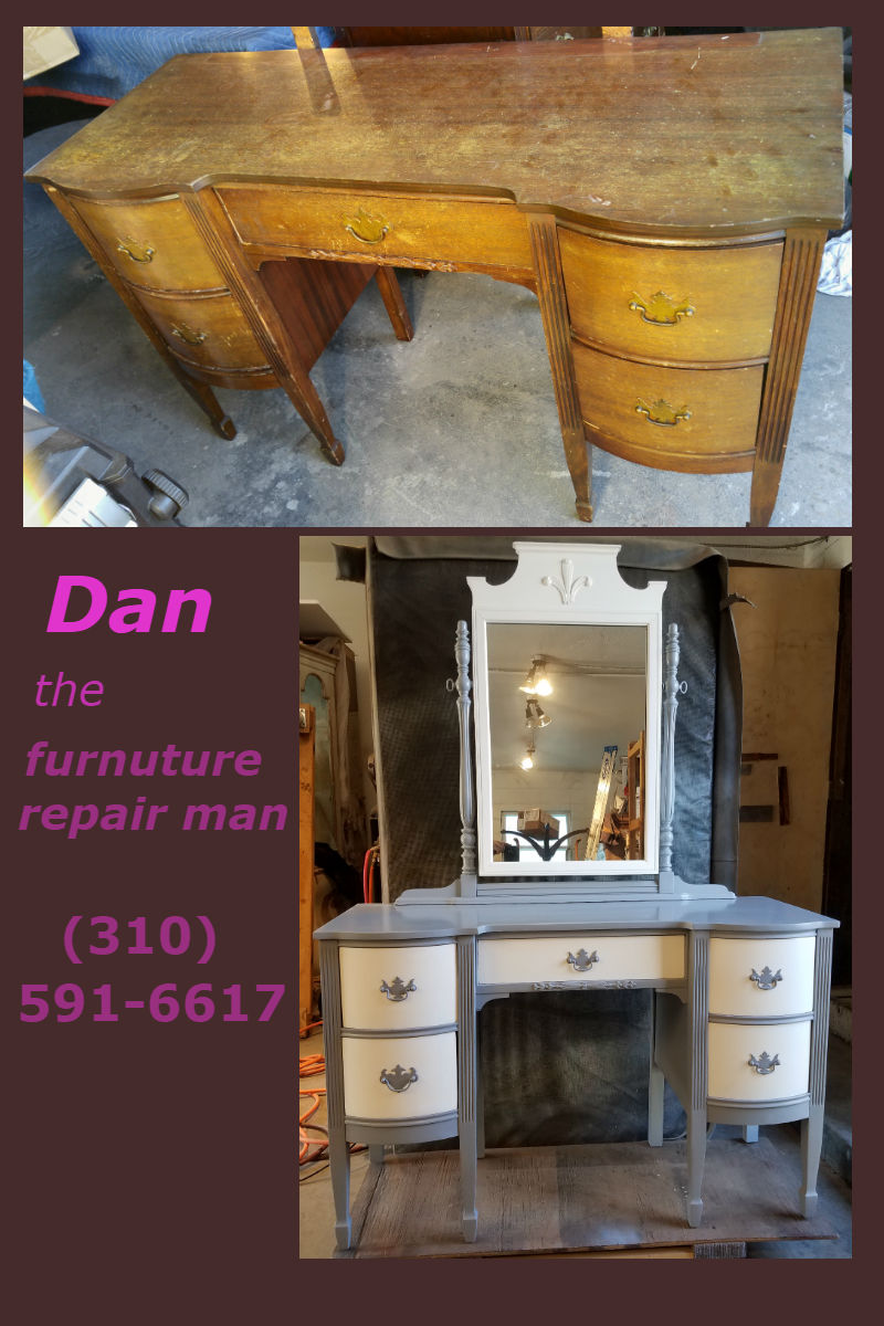 Dan The Furniture Repair Man Provides The Following Services:
