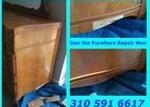 Antique Dresser Veneer Repair Marina Del Rey