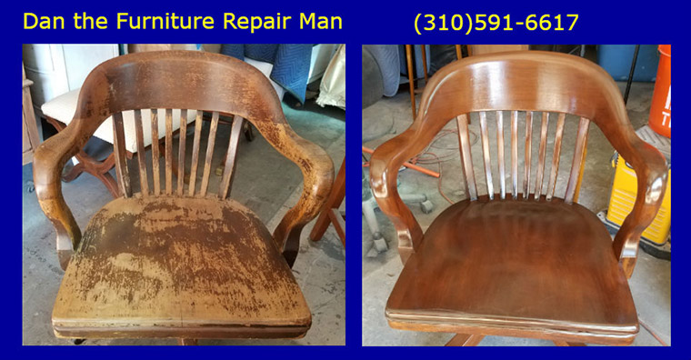 Wooden Office Chair Restoration
